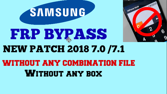 Samsung frp bypass solution for 2018 models